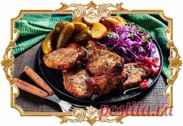 #Ароматная #свинина, #запечённая #в #духовке (#рецепт #на #скорую #руку)  Просто натрите #мясо маслом и специями и сразу же отправьте в духовой шкаф. #Свинина готовится быстро и получается мягкой и сочной.  Время приготовления: Показать полностью...