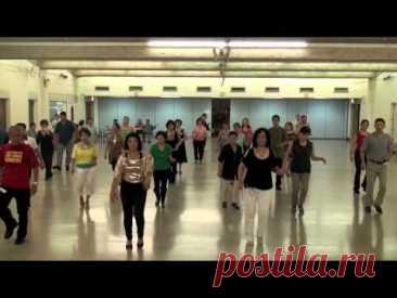 Line Dance: CHA CHA  ESPANA (SPAIN)