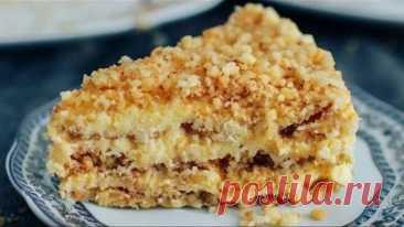Торт ПЛОМБИР без духовки и без печенья! Десерт за 15 минут!