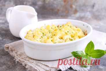 Цветная капуста, запеченная в сырном соусе по рецепту Вальтера Скотта — Sloosh – кулинарные рецепты