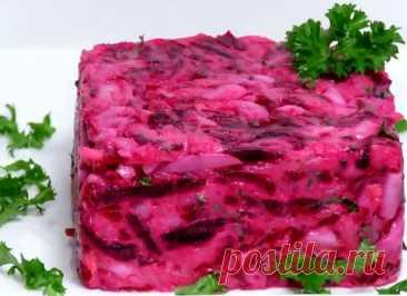Вкусный и простой салат из свеклы | ВокругСада.ру