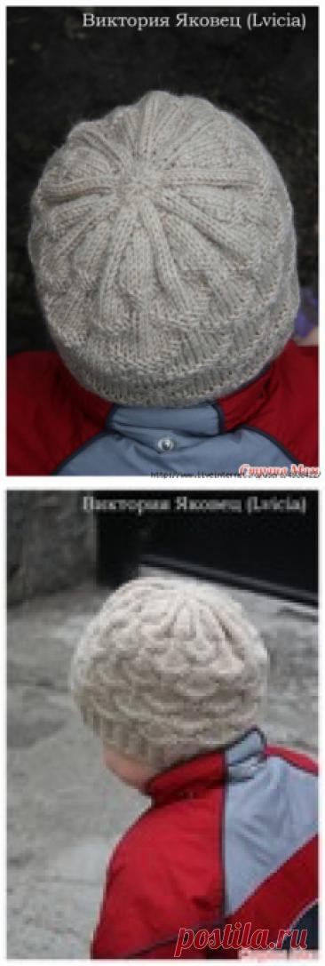"Детская шапочка ""Ракушки"" (Shells hat)"