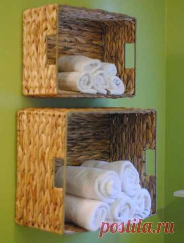Красиво + удобно! 8 практичных идей для декора ванной комнаты