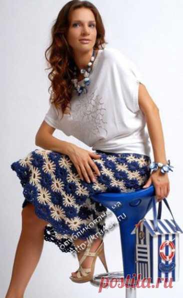 Knitted hook skirt