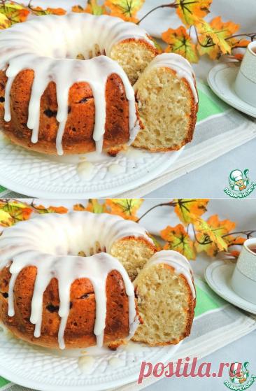"""Творожно-кокосовый пирог """"Интрига"""" – кулинарный рецепт"""