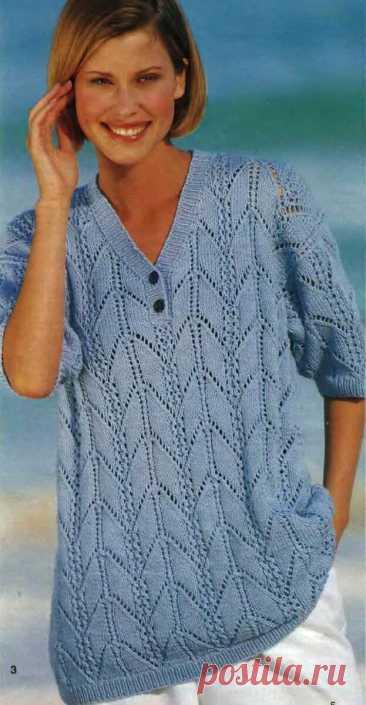 Цвет настроения синий, а может бирюзовый... Рукодельницы, для вас вдохновляющая подборка джемперов. | Asha. Вязание и дизайн.🌶 | Яндекс Дзен