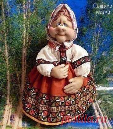 Кукла из капроновых чулок и носков. Как вам?
