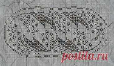 Красивые филейные салфетки с цветами и листьями: вязание крючком | Левреткоман-оч.умелец | Яндекс Дзен