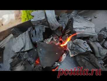 Быстро, надёжно и просто! Крутой СПОСОБ разжечь угли для шашлыка!