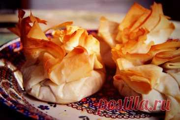 Мешочки из теста фило с грибами и пармезаном рецепт – европейская кухня: выпечка и десерты. «Еда»