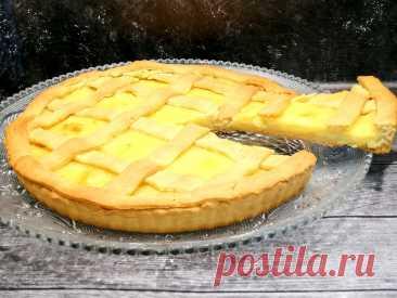 Лимонный пирог/Песочное тесто и Нежный ЛИМОННЫЙ крем Просто и ВКУСНО! | Кухня ̶н̶е̶Умелой хозяйки | Яндекс Дзен