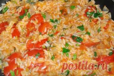 Африканский рис на сковороде по рецепту Джейми Оливера - Калейдоскоп событий