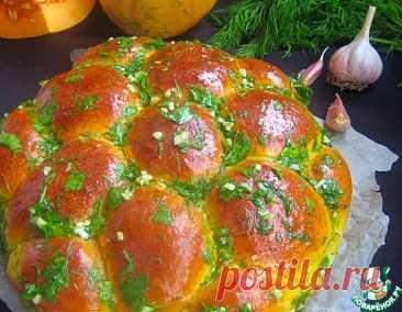 Тыквенные булочки-пампушки с чесноком – кулинарный рецепт