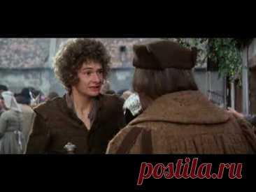 Принц и нищий (США, 1977) костюмная комедия, Оливер Рид, Рэкел Уэлч, Марк Лестер, советский дубляж
