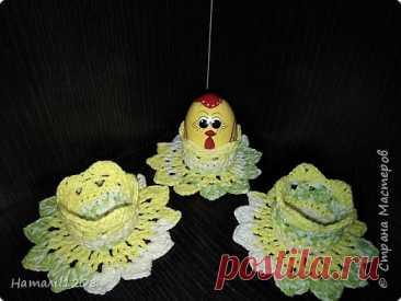 К Пасхе. Подставки для яиц