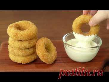 Как приготовить хрустящие куриные пончики и чесночно-сырный соус :: рецепт куриных наггетсов