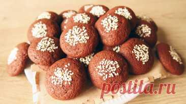 Шоколадное печенье на кефире: легкая воздушная выпечка к чаю | Кухня от Татьяны | Яндекс Дзен