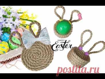 ИДЕИ к Пасхе СВОИМИ РУКАМИ из джута / Пасхальный декор / DIY Easter from Jute