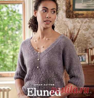 Вязание пуловера Eluned - Хитсовет