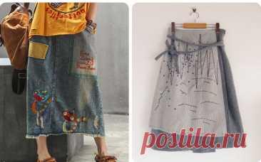 Бохо-шик на лето 2021: юбка своими руками, чудо-переделки(выкройки даю)   СТИЛЬ МОДА ТРЕНДЫ   Яндекс Дзен