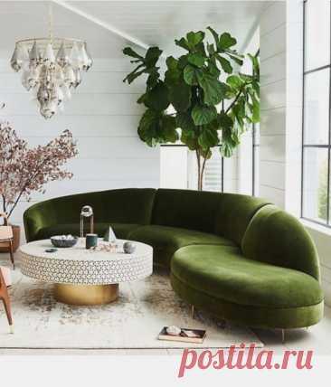 Приятный зеленый уголок для отдыха