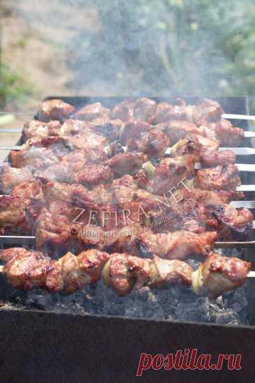 Самый вкусный шашлык из свинины – рецепт с уксусом — Кулинарные рецепты любящей жены