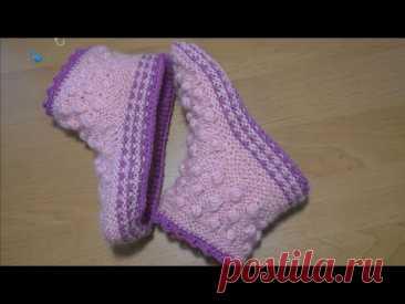 Носочки красивые   и легко вяжутся