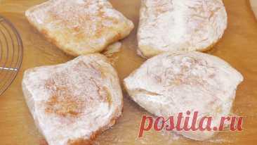 Нашла удачный рецепт чиабатты, хлеб очень вкусный и дешевле, чем в магазине. Пеку 2 раза в неделю   IrinaCooking   Яндекс Дзен