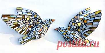 Three Golden birds, Two Nordic Snow Birds and a Brave Robin Redbreast - Kate Rattray I've made some new birds inspired by winter just for you!    The Brave Robin There are several...