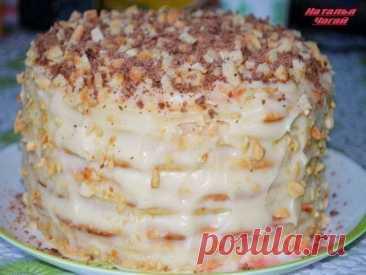 Чудесный творожный торт на сковородке – вкусно и просто!