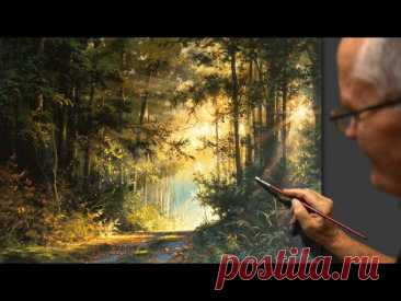 """Nature sounds"" Acrylic. Artist - Viktor Yushkevich. #82 photos in 2021."