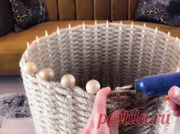 Креативная идея использования старого табурета