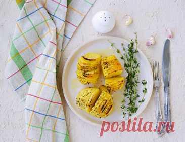 Аппетитный картофель по-шведски в духовке   Еда от ШефМаркет   Яндекс Дзен