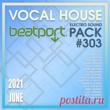 Beatport Vocal House: Sound Pack #303 (2021) Прекрасная подборка актуальных треков классического вокал хауса в 303-м релизе прямиком с уважаемой медиа площадки. Лёгкое, тёплое звучание и качественное сведение – вот что выделяет представленные треки среди сотен схожих.Категория: MixtapeИсполнитель: Various MusiciansНазвание: Beatport Vocal