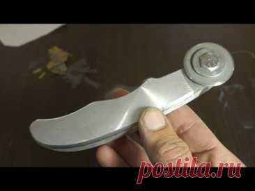 Как сделать дисковый нож