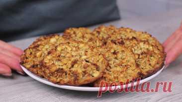 Овсяное печенье с яблоком - полезно и вкусно | Кулинарка | Яндекс Дзен
