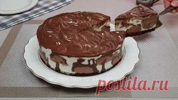 Торт мороженое Милка. Обалденно вкусный торт готовится проще простого | Вкусно Просто Быстро | Яндекс Дзен