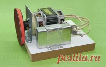 Простой самодельный шлифовальный станок из двигателя электромясорубки: фото и описание изготовления