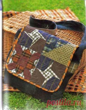 Лоскутные сумки в стиле пэчворк Лоскутное шитье становится все популярнее. Наряду с пледами, одеялами, декоративными латками и оригинальными подушками все чаще появляются аксессуары, выполненные в стиле пэчворк. Собранные буквально ...