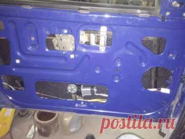 Установка в передние двери ИЖ-2126 Ода электростеклоподъемников ФОРВАРД. Иллюстрированный отчет | Стеклоподъем.РФ