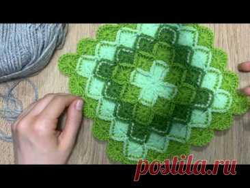 Bavarian knitting by a hook