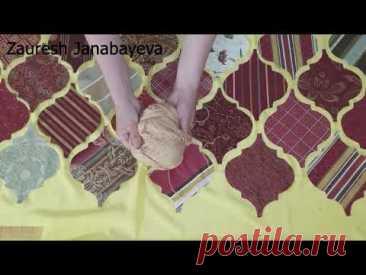 DIY Шитье лоскутного одеяло. / Пэчворк идея / Квилтинг для начинающих / Швейный проект одеяло.