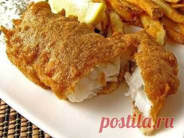 6 recipes of batter for fish