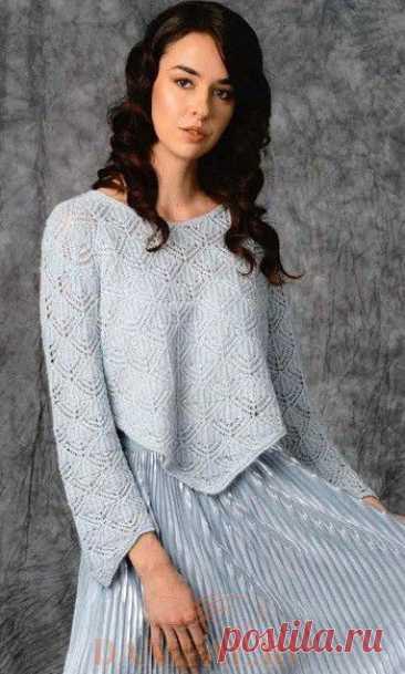 Ажурный пуловер «En Pointe»