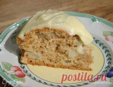 Яблочный пирог со сливочным кремом, пошаговый рецепт на 5013 ккал, фото, ингредиенты - Юлия Высоцкая
