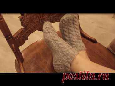 Вязание укороченных носков