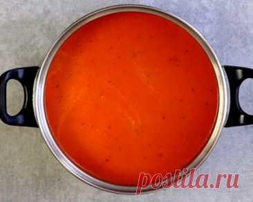 Восхитительно вкусный суп-пюре из запеченного перца