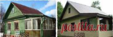 Реконструкция дачного дома   Реконструкция садовых домиков и дач