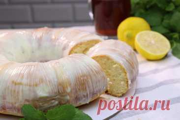 Лимонный пирог на сметане. Шикарный и очень простой рецепт   Как Вкусно! С Ириной Юхновец   Яндекс Дзен