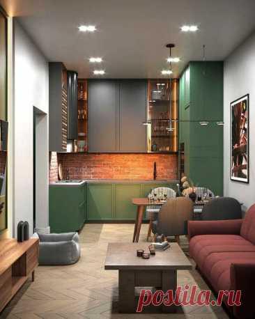 Дизайн интерьера совмещенной кухни-гостиной: 50 идей, как оформить красиво и функционально - Я Покупаю
